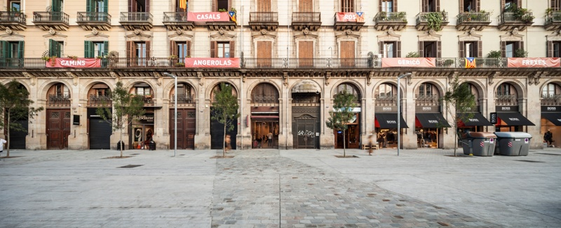 Urban Development of the Environs of El Born Market