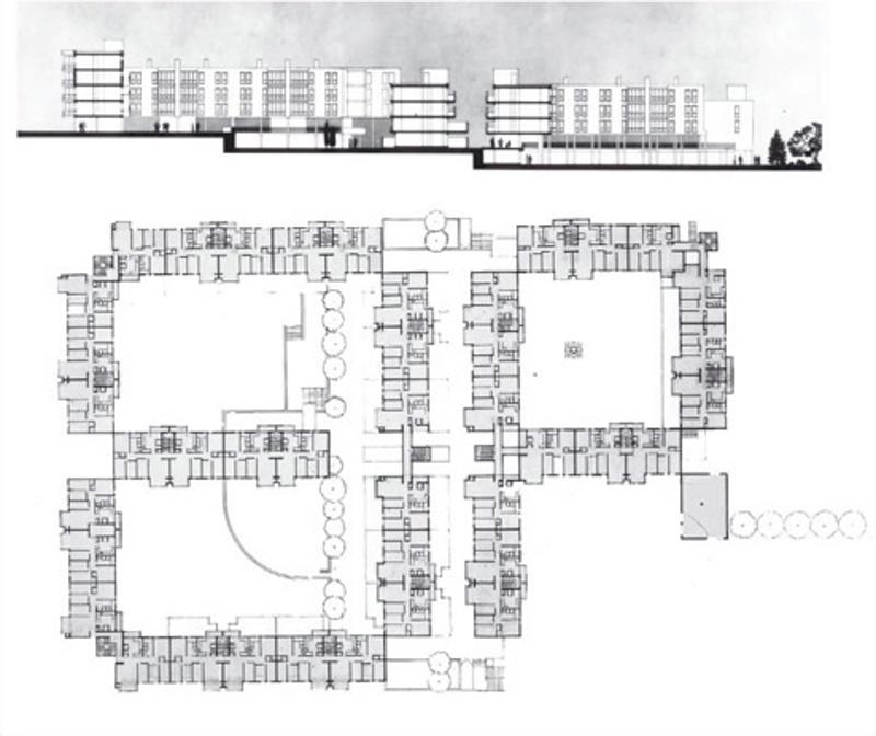Les Arcades Dwellings