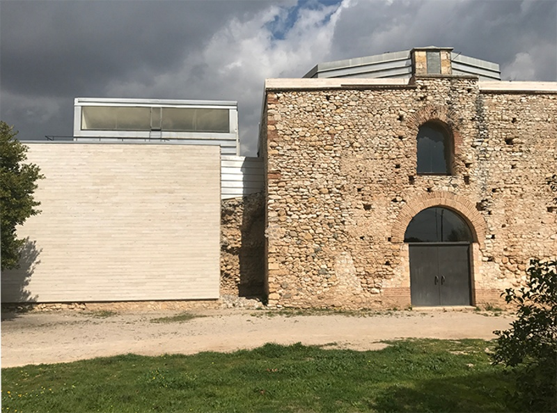 Intervention in the Roman Villa in Centcelles