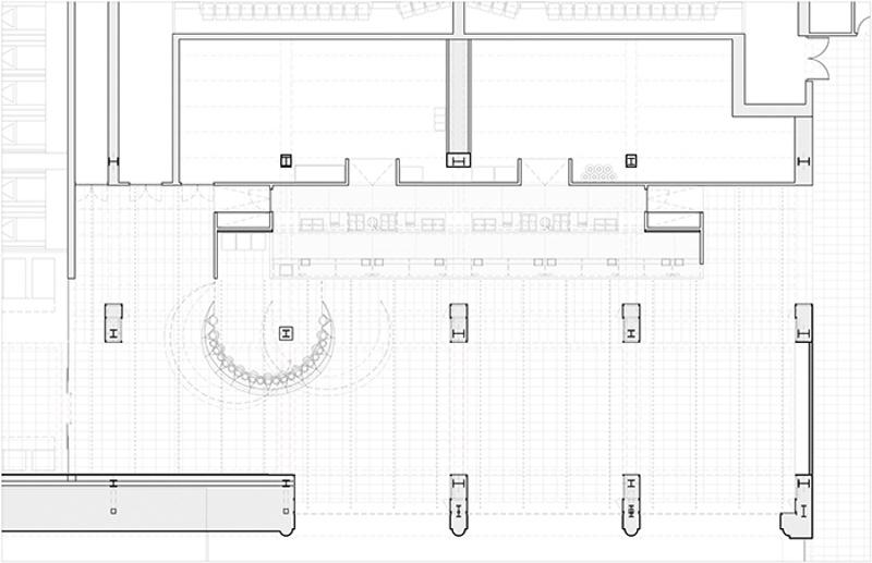 Nuevo Hall para los Cines Filmax Gran Via
