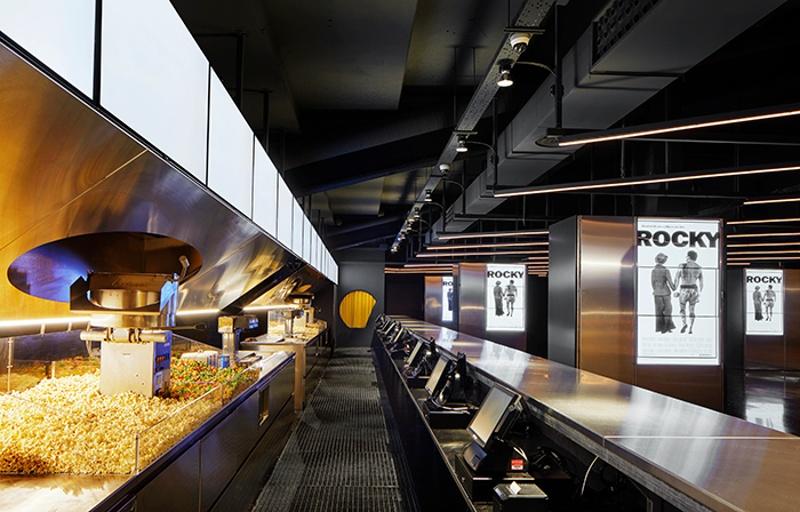 New Foyer of Filmax Gran Via cinema Complex