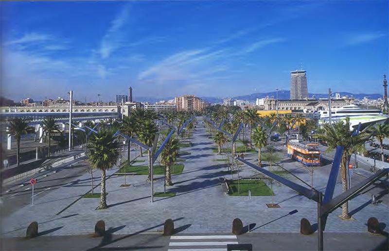Moll de Barcelona Quay Promenade
