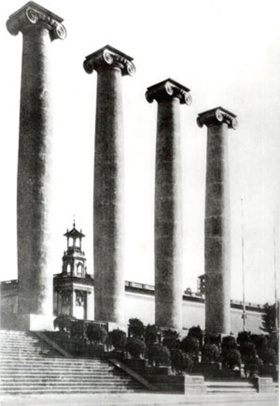 The Four Columns Monument