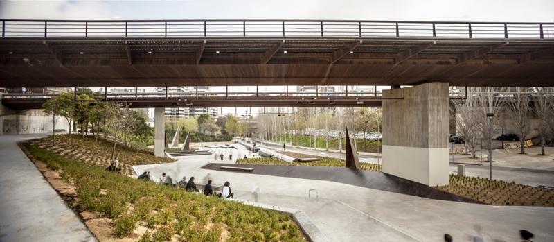 Àurea Cuadrado Skate Park Gardens
