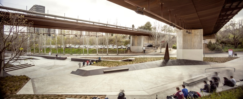 Skate Park Jardines de Àurea Cuadrado