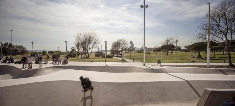 Mar Bella Skate Park