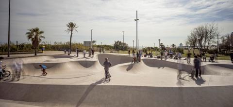 Skate Park Mar Bella
