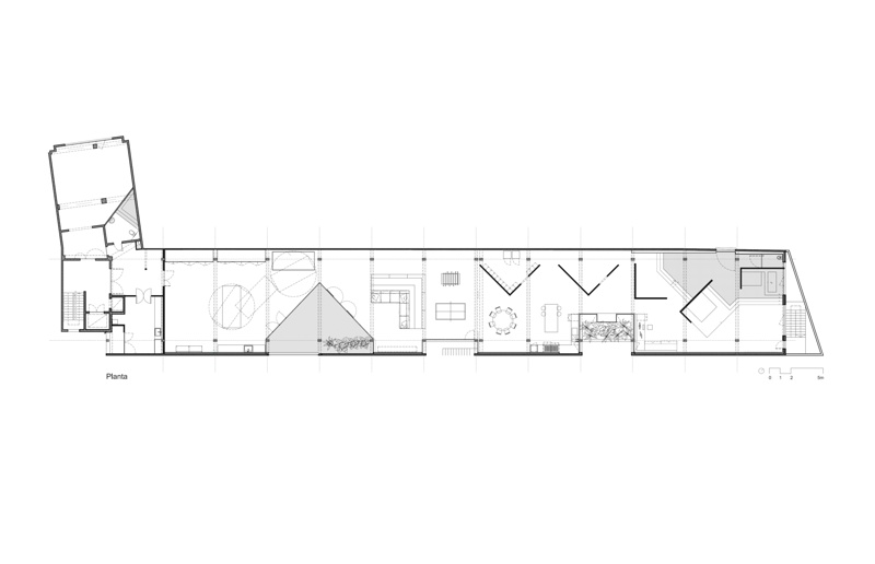 700 m2 Apartment for a Bachelor