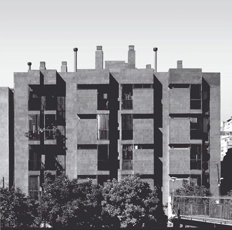 Edificio de Viviendas Via Augusta