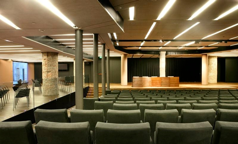 Gaudí Hall and Auditorium at Milà House