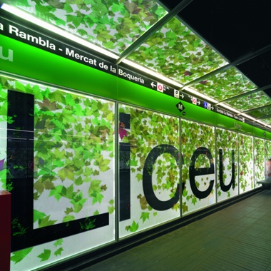 Estación de Metro L3: Liceu