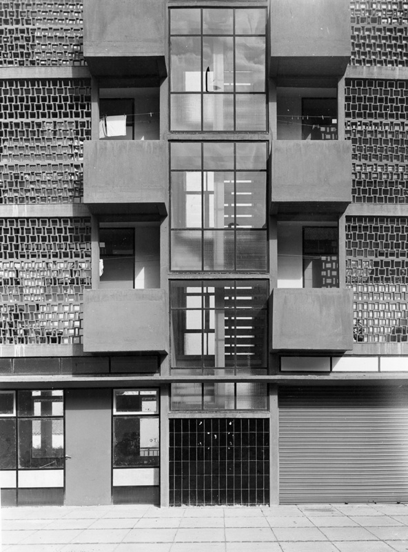 Blocks A and B of Montbau Estate