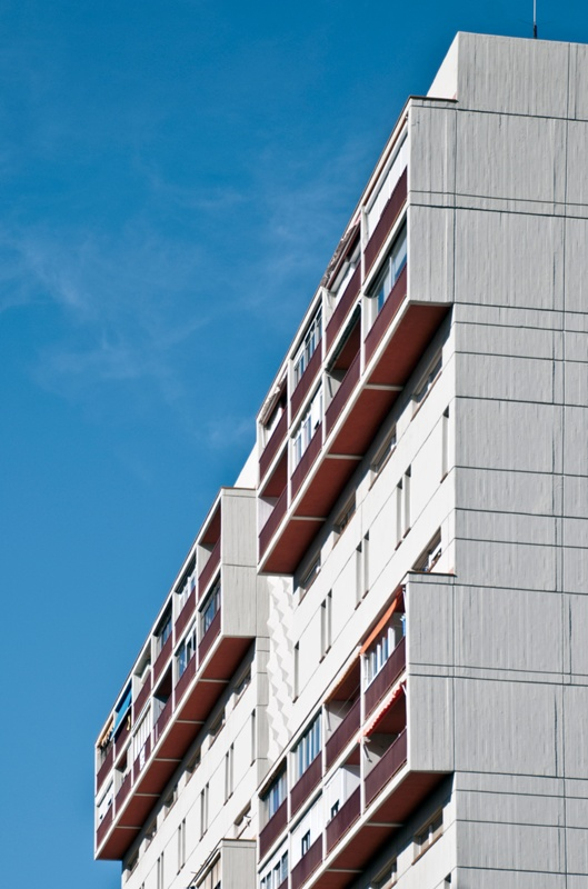 Block N of Montbau Estate