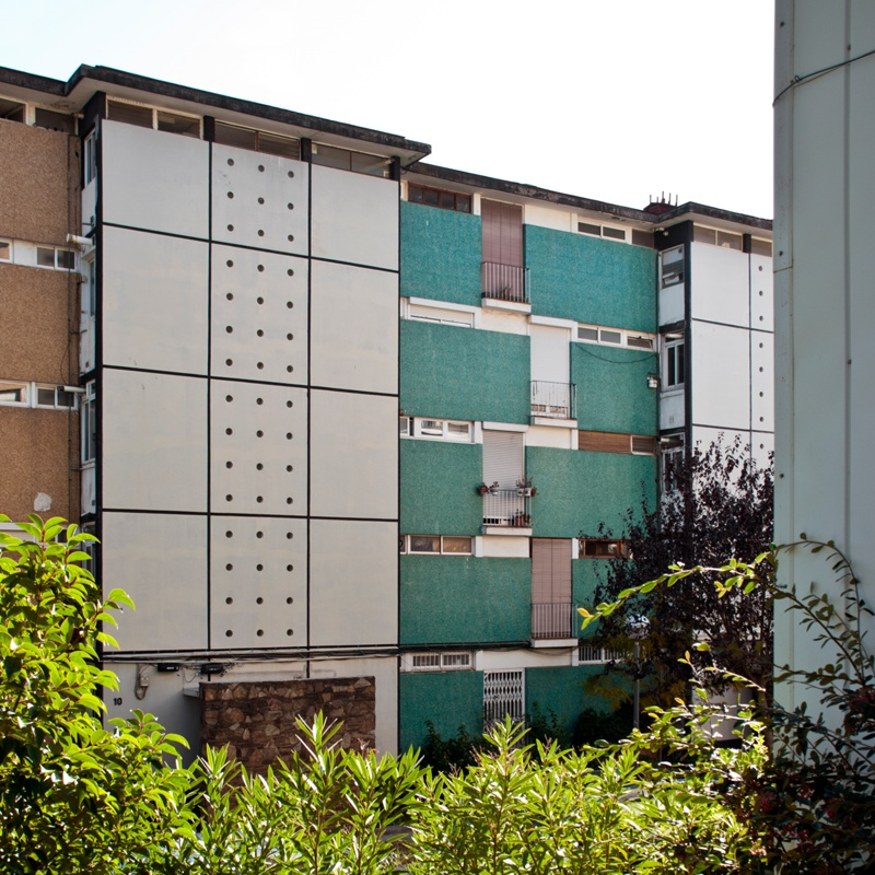 Blocks G1 and G2 of Montbau Estate