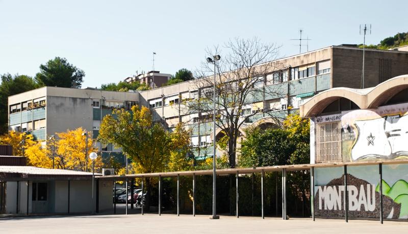Bloque P del Polígono Montbau