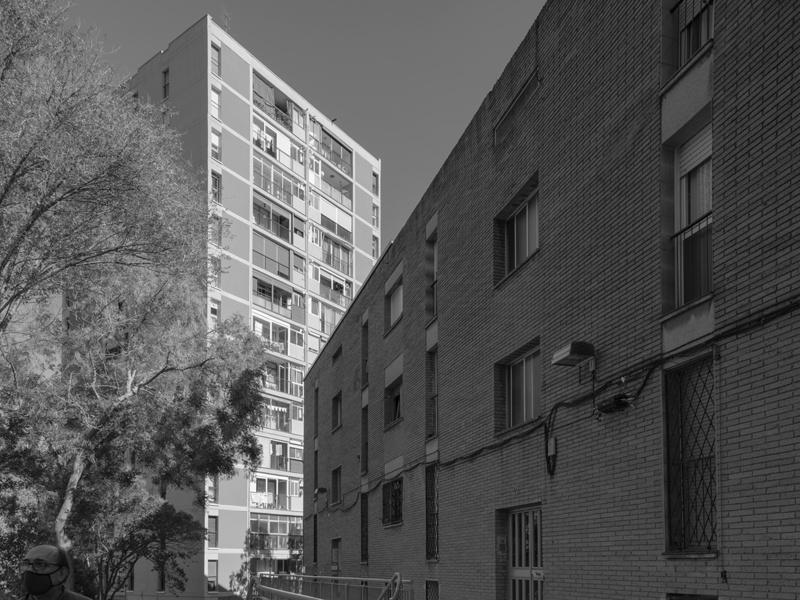 Block Q of Montbau Estate