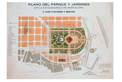 Development of La Ciutadella Park