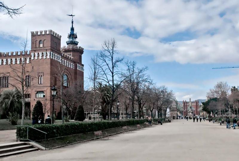 Urbanització del Parc de la Ciutadella