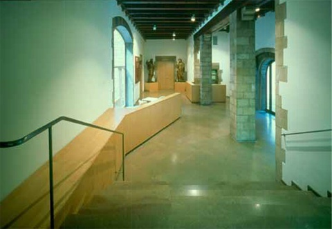 Interventions in the Frederic Marès Museum