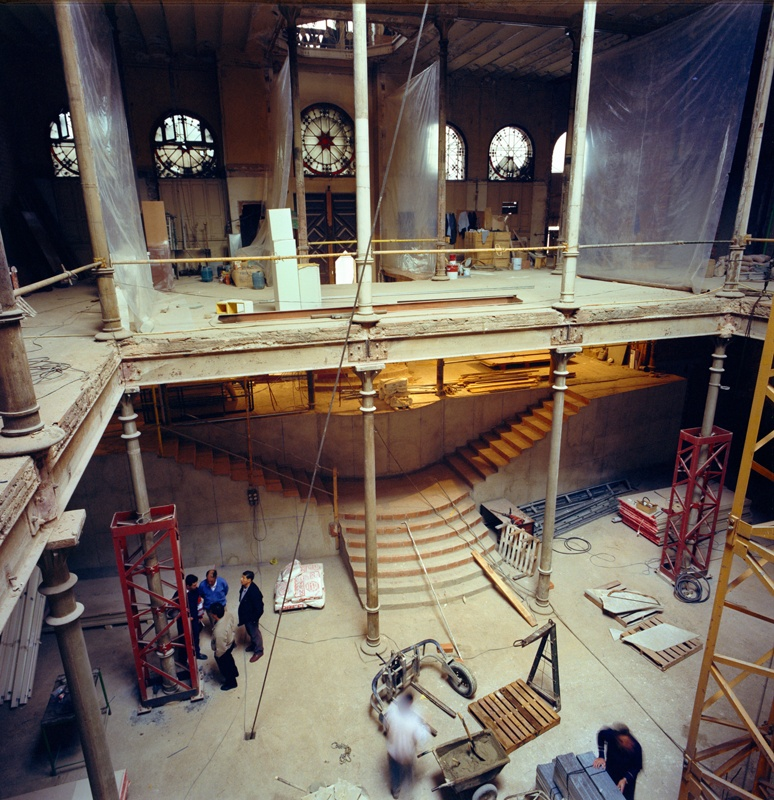 Rehabilitation of the Editorial Montaner i Simón Building to House the Antoni Tàpies Foundation