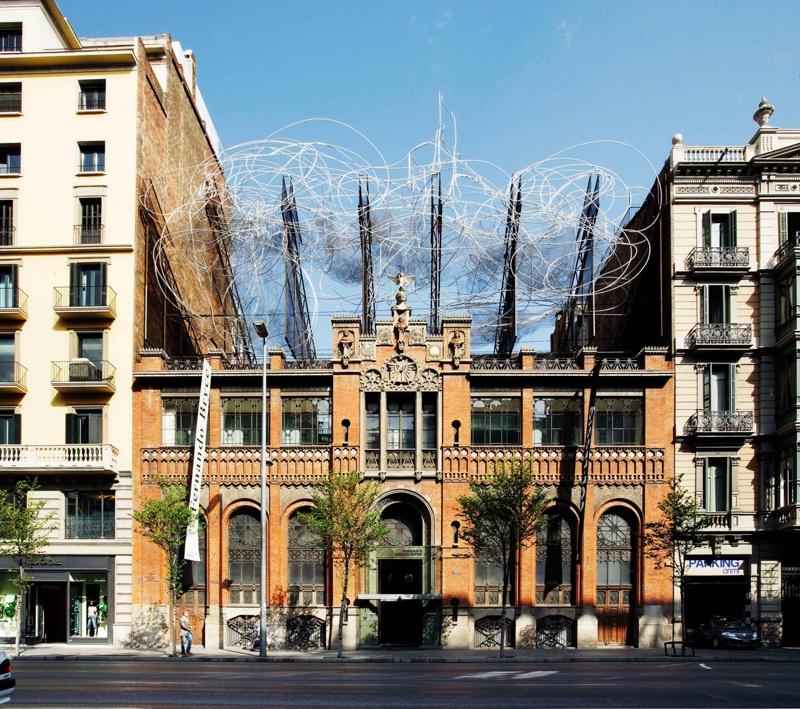 Rehabilitació de l'Editorial Montaner i Simón per a la Fundació Antoni Tàpies