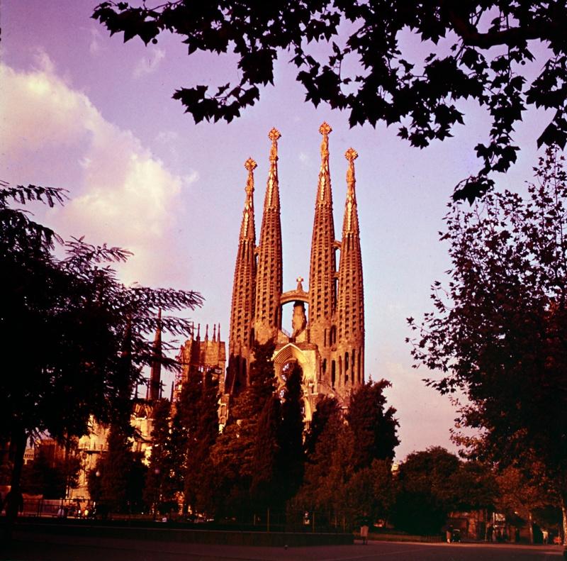 Continuation of Work on the Sagrada Familia Expiatory Temple