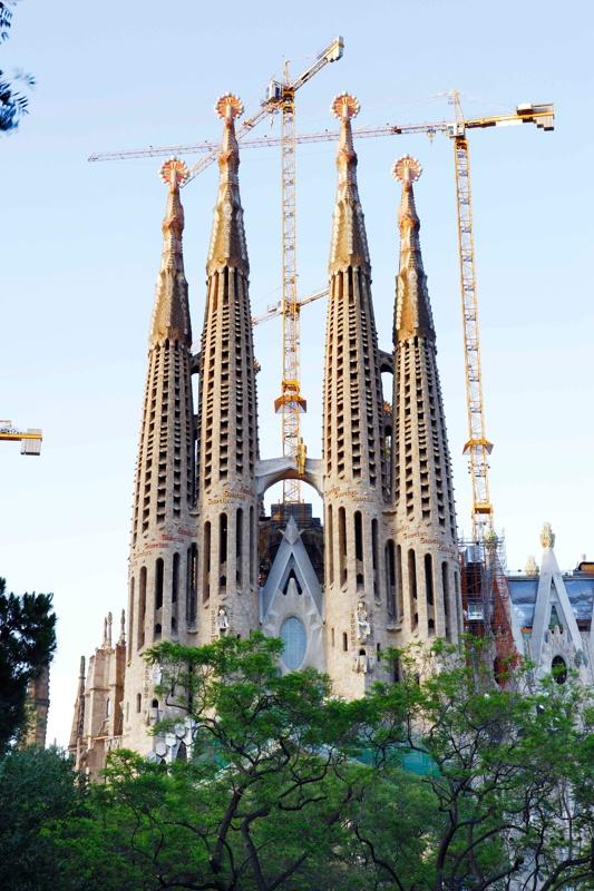 Continuación de las Obras del Templo Expiatorio de la Sagrada Familia