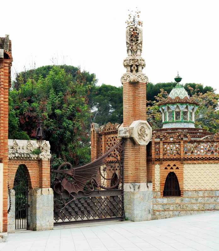 Guards Pavilion, Entrance and Stables of the Güell Estate