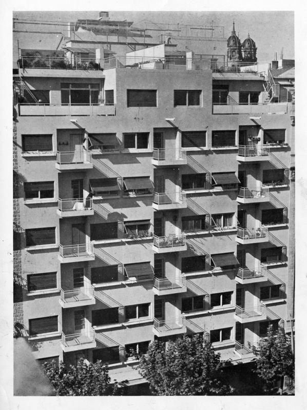 Apartment Building and Astoria Cinema