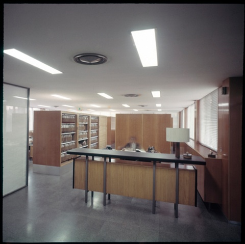 Secretariat Floor of the Architects' Association of Catalonia (COAC)