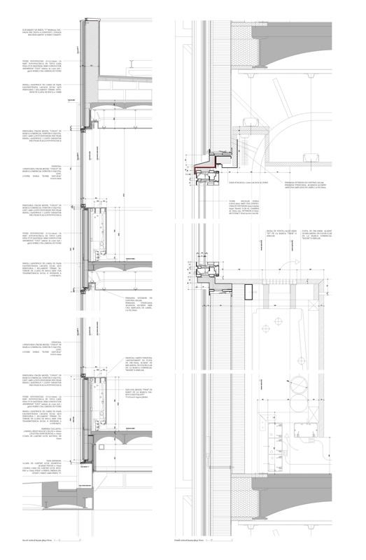 Renovación de la Fachada del Colegio de Arquitectos de Cataluña (COAC)