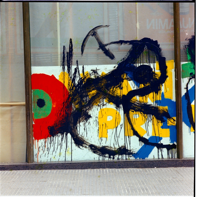 'ÒRIM, otro' Joan Miró's Exhibition and Mural at the Architects' Association of Catalonia (COAC)