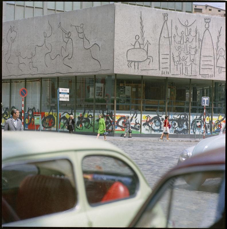 'ÒRIM, otro' Exposición de Joan Miró y Mural en el Colegio de Arquitectos de Cataluña (COAC)
