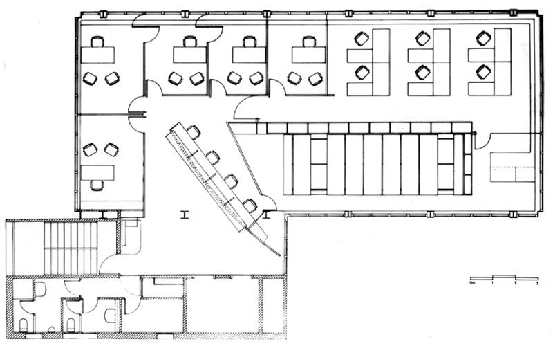Acondicionament de la Planta 5ª del Col·legi d'Arquitectes de Catalunya (COAC)