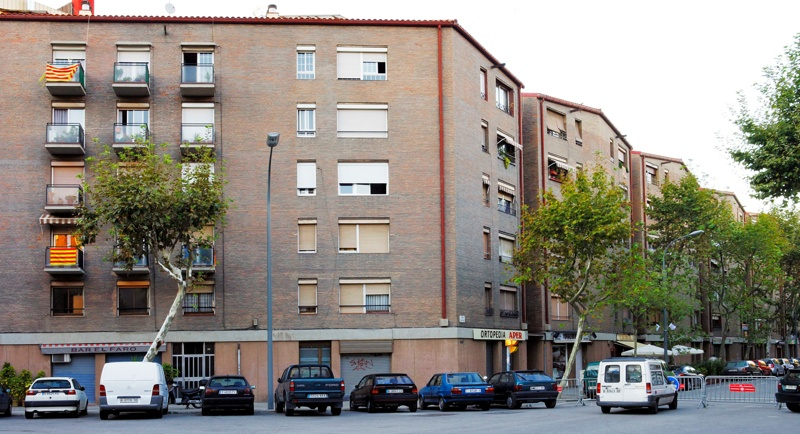 Pallars Residential Street Block