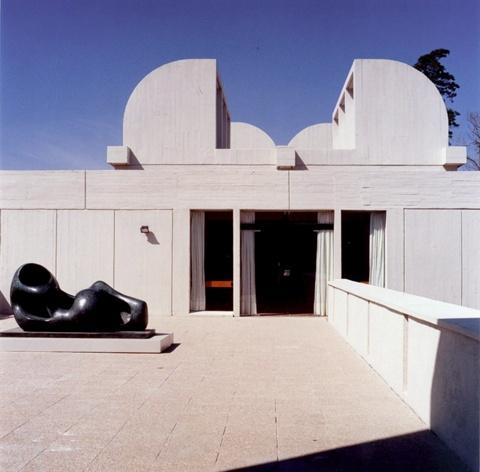 Primera Ampliación de la Fundació Joan Miró
