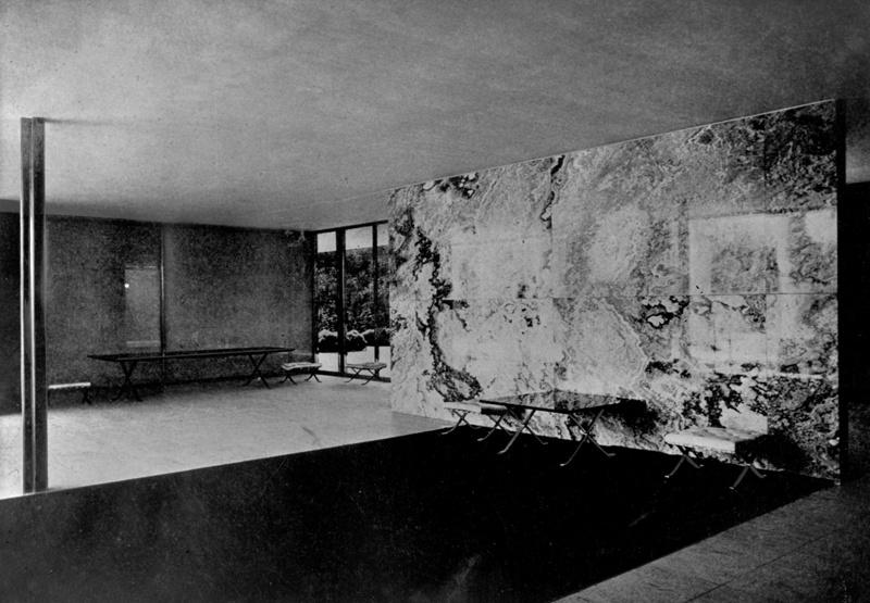 Pabellón Alemán de la Exposición Internacional de 1929