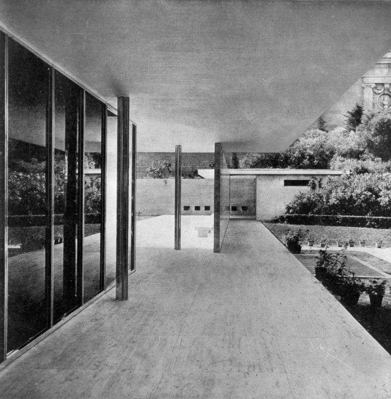 German Pavilion of the 1929 International Exhibition