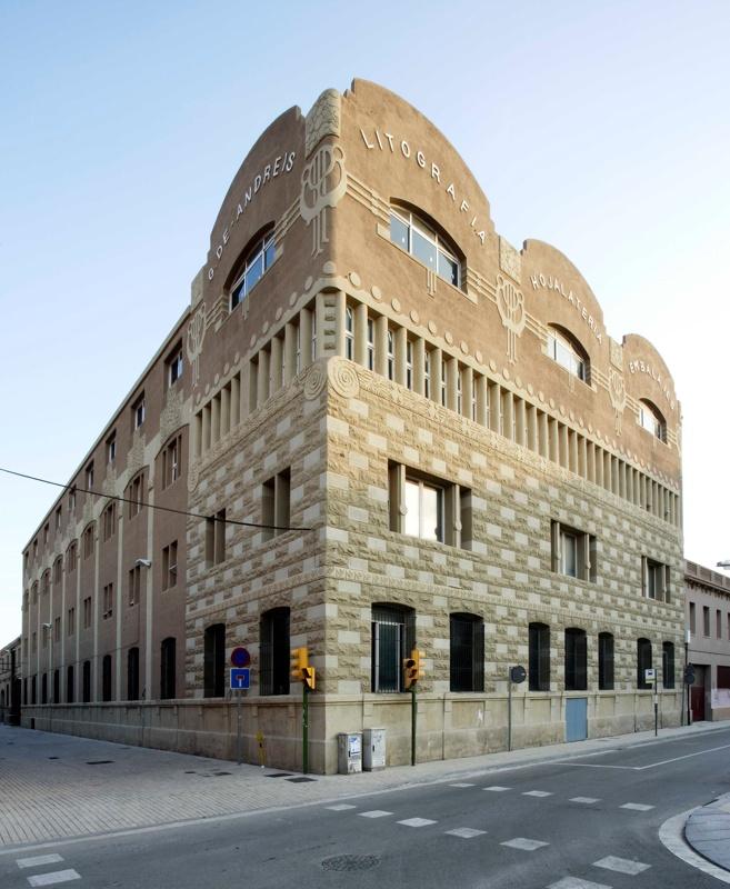 Gottardo de Andreis Metalgraf Española Factory Building