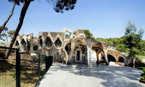 Restauració i Nova Coberta de la Cripta de la Colònia Güell
