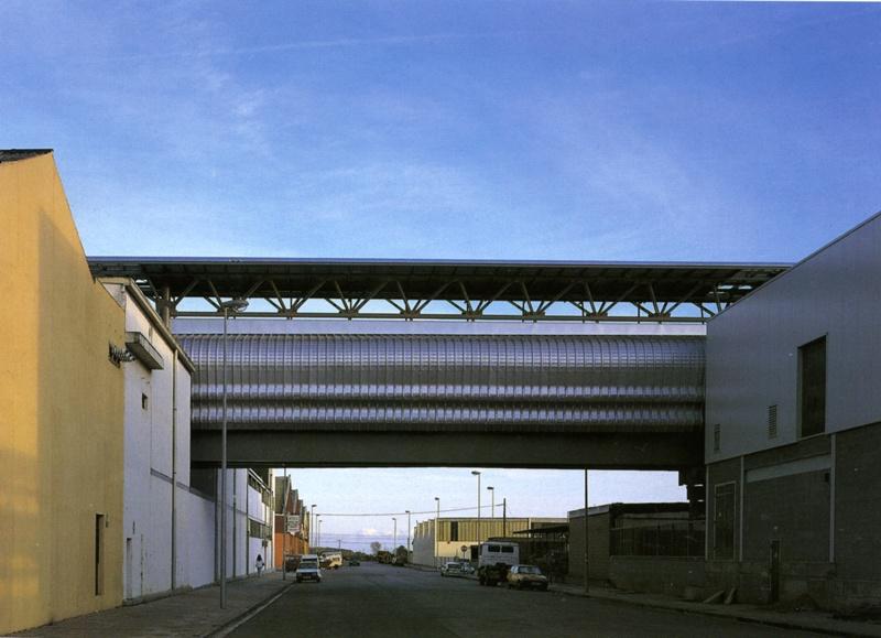 Pasarela Industrial de la Camy-Nestlé