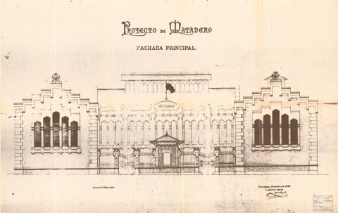Tarragona Municipal Abattoir Building