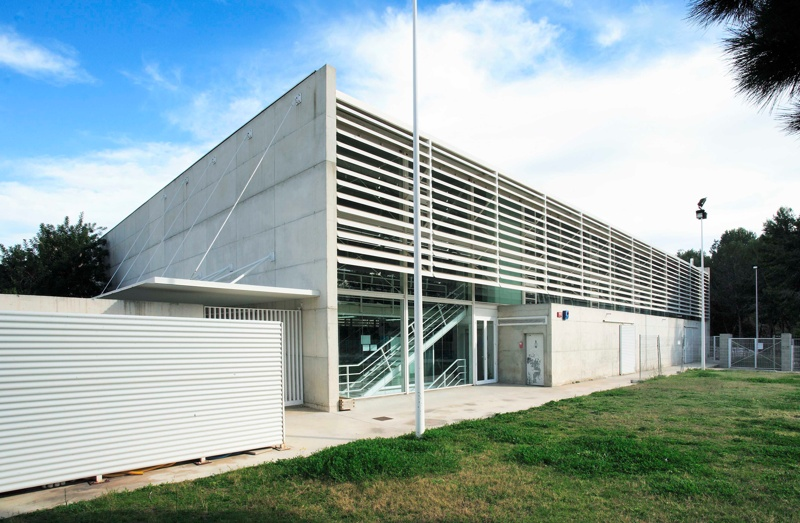 Sports Pavilion and Changing Rooms of Sant Salvador Sports Complex