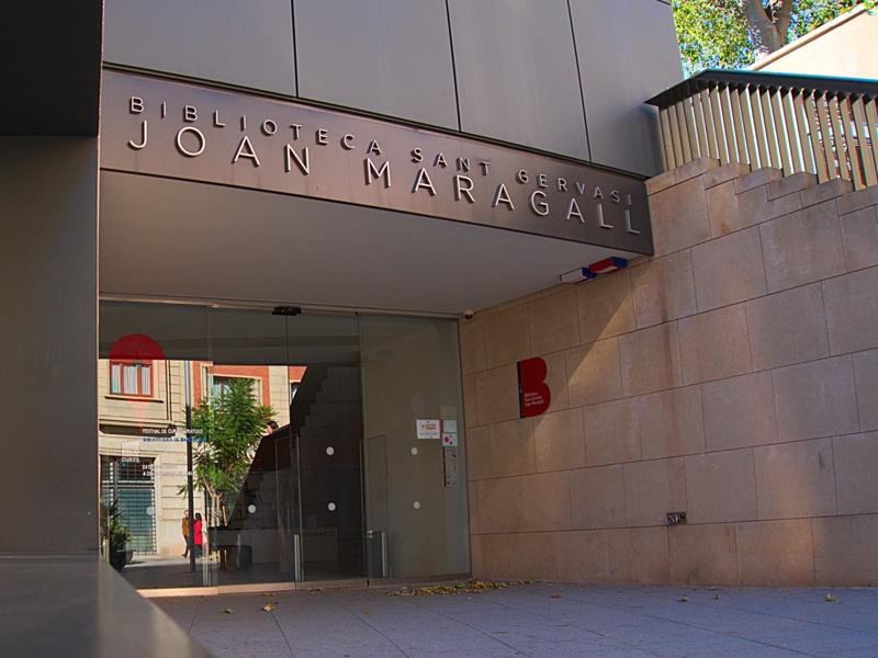 Sant Gervasi - Joan Maragall Library