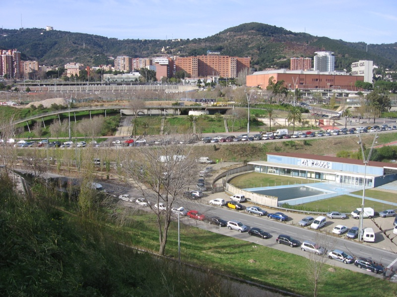 Urban Development of the Olympic Area of La Vall d'Hebron