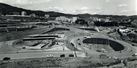 Urbanització de l'Àrea Olímpica de la Vall d'Hebron