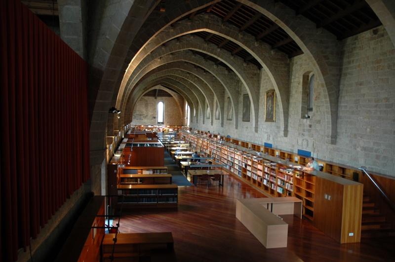 Sales de Lectura de la Biblioteca de Catalunya