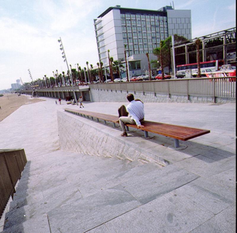 La Barceloneta Seafront Promenade