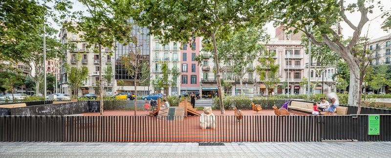Remodelling of Passeig de Sant Joan Avenue (Phase 2)
