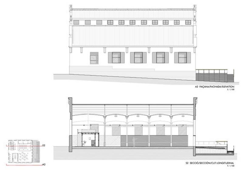 Rehabilitació de la Nau 3 de l'Antic Escorxador Municipal de Badalona